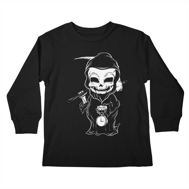 baby grim Kids Longsleeve T-Shirt by audi's Artist Shop