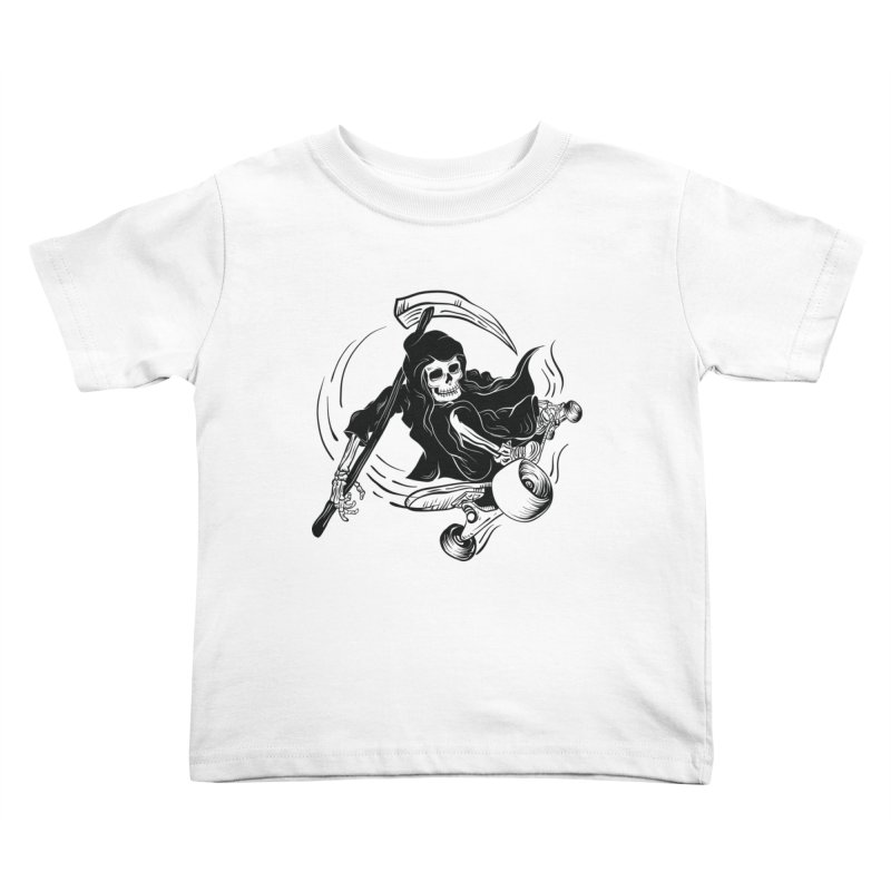 death ride Kids Toddler T-Shirt by audi's Artist Shop