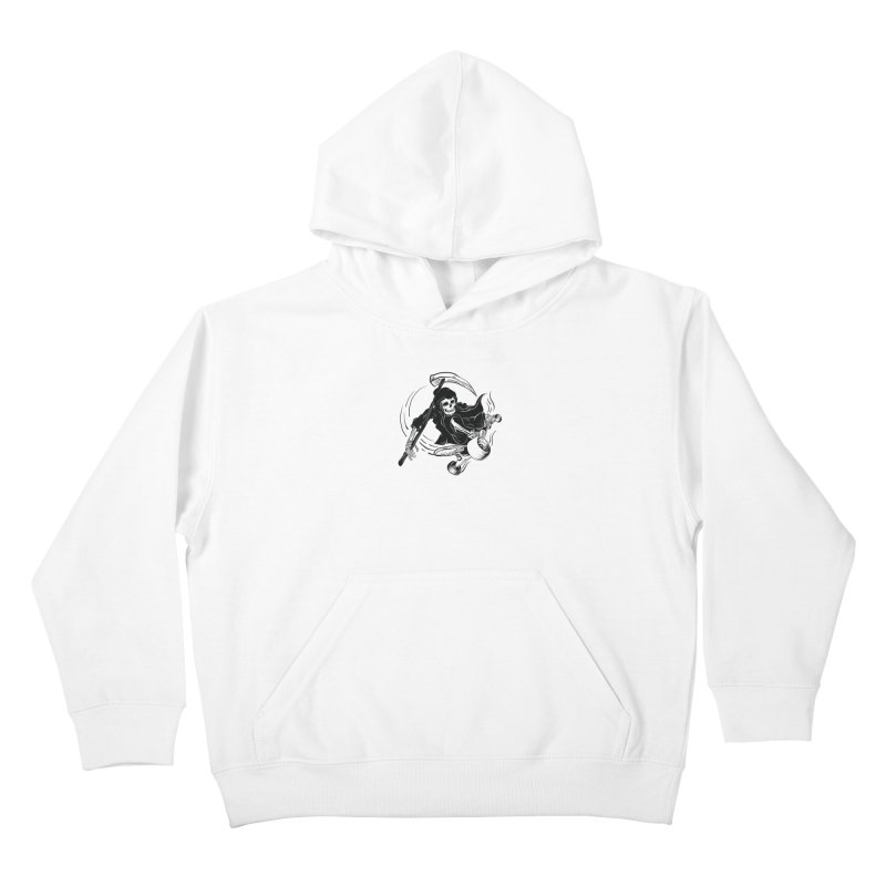 death ride Kids Pullover Hoody by audi's Artist Shop