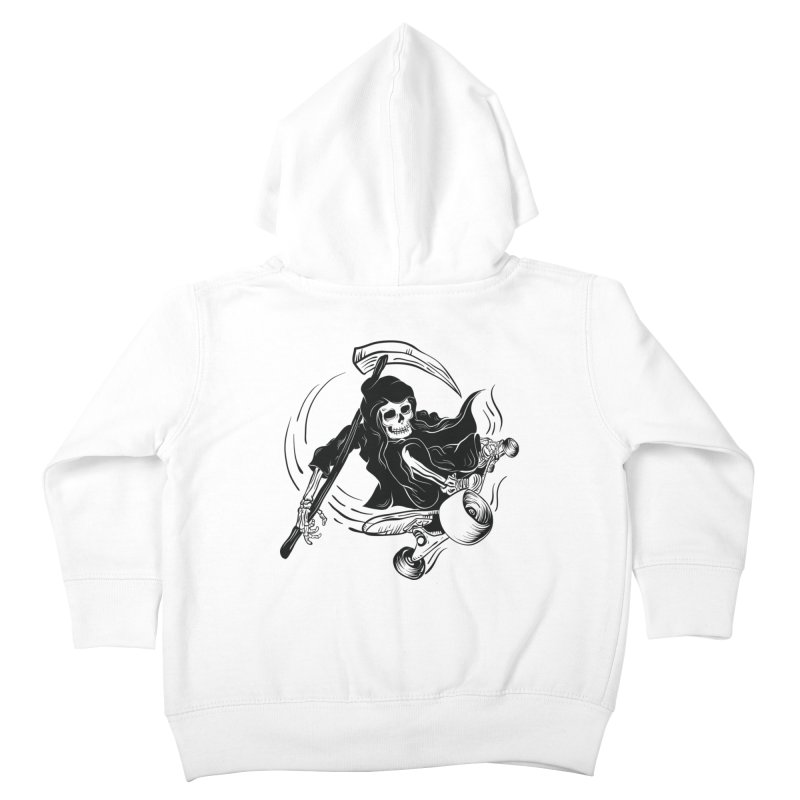 death ride Kids Toddler Zip-Up Hoody by audi's Artist Shop