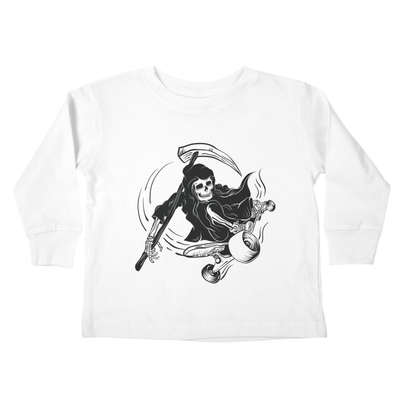 death ride Kids Toddler Longsleeve T-Shirt by audi's Artist Shop