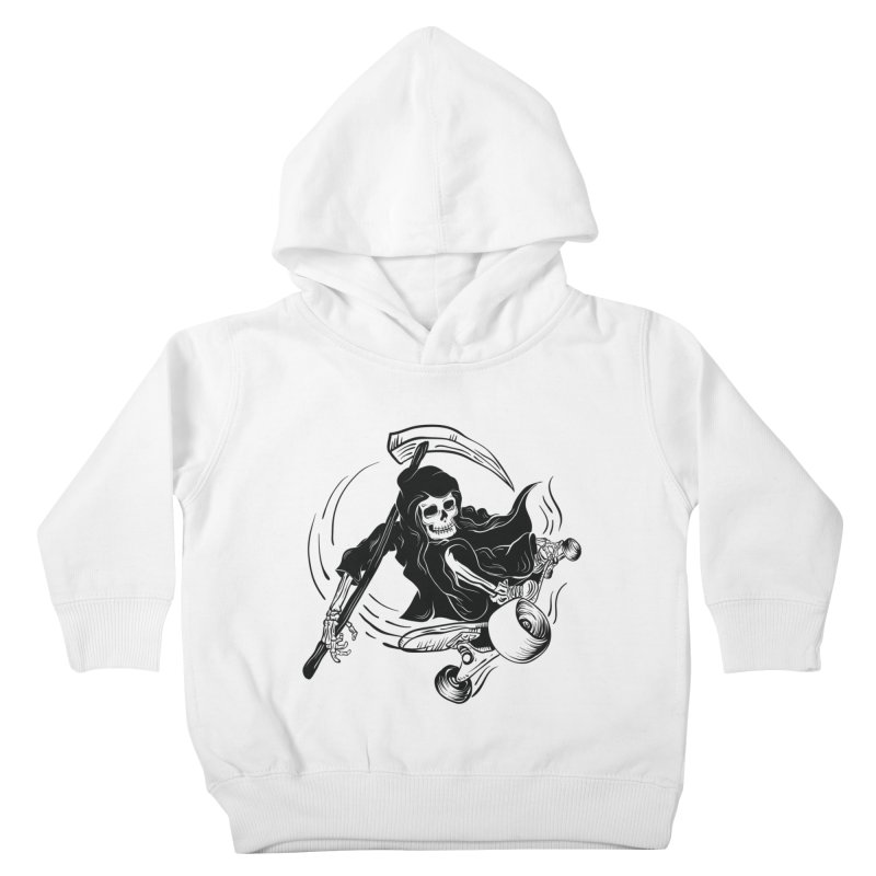 death ride Kids Toddler Pullover Hoody by audi's Artist Shop