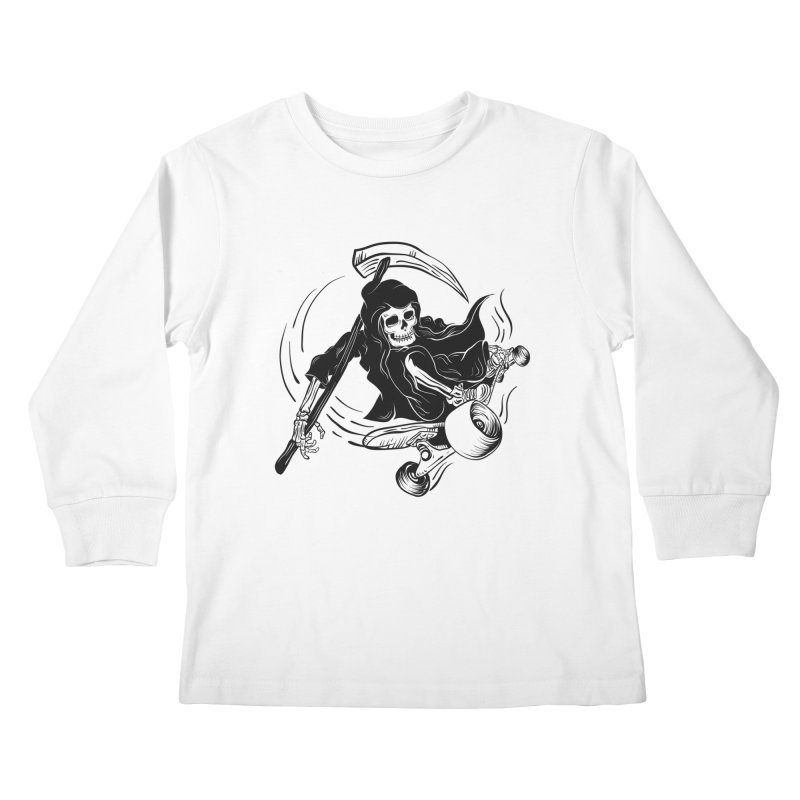 death ride Kids Longsleeve T-Shirt by audi's Artist Shop