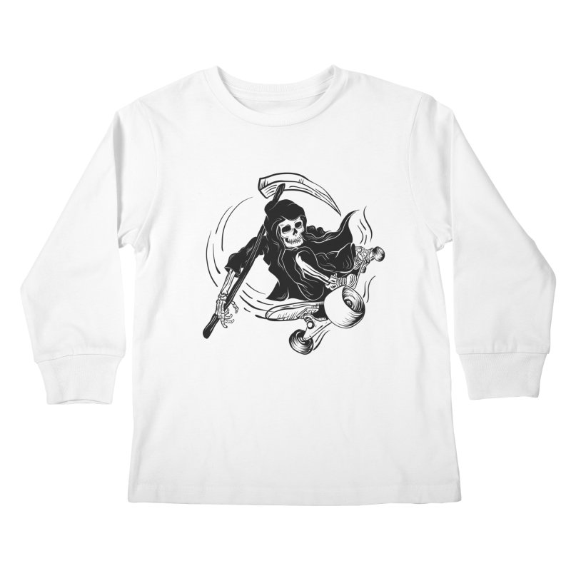 death ride Kids Longsleeve T-Shirt by audi's Artist Shop