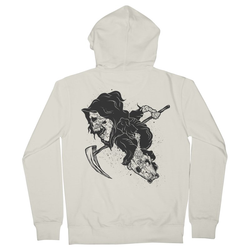 last grind Women's French Terry Zip-Up Hoody by audi's Artist Shop