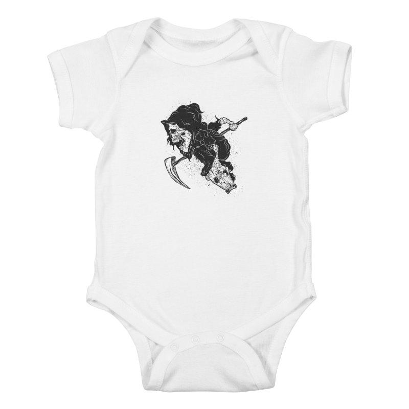 last grind Kids Baby Bodysuit by audi's Artist Shop