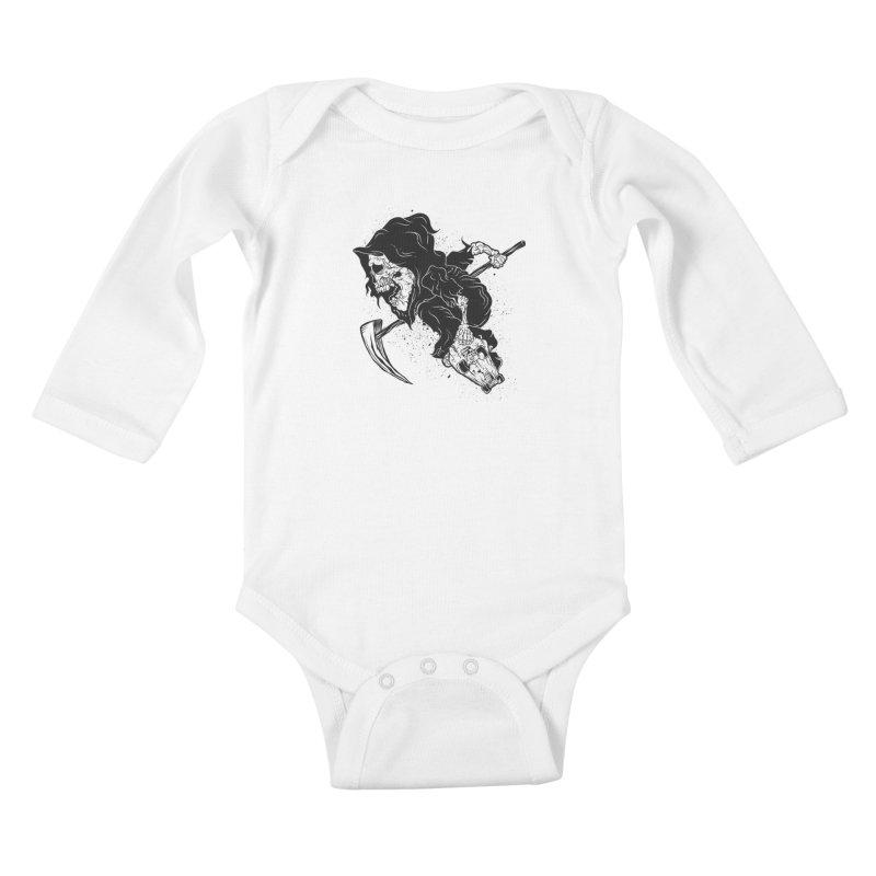 last grind Kids Baby Longsleeve Bodysuit by audi's Artist Shop