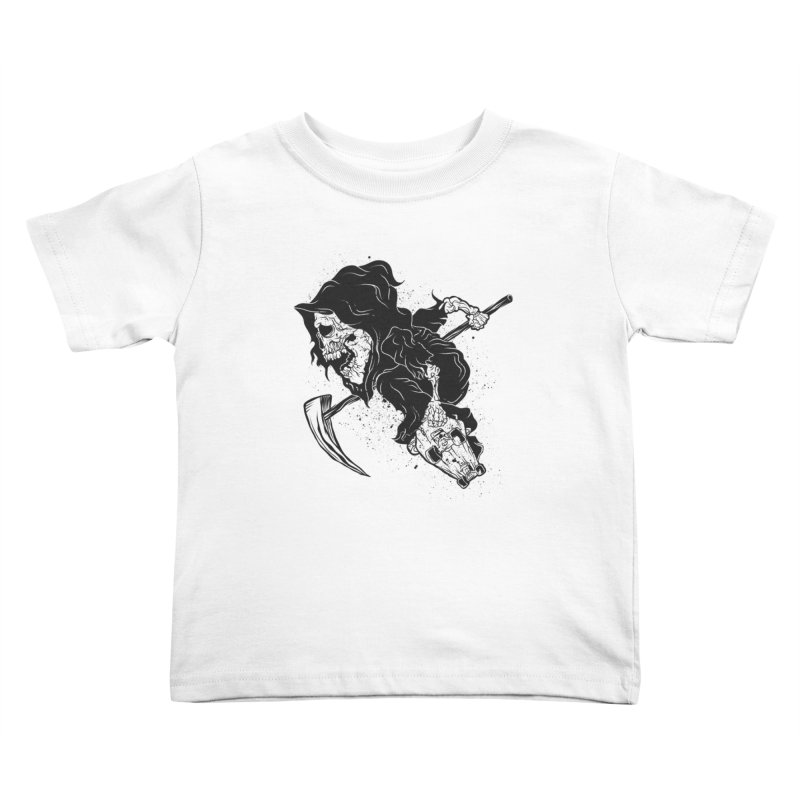 last grind Kids Toddler T-Shirt by audi's Artist Shop