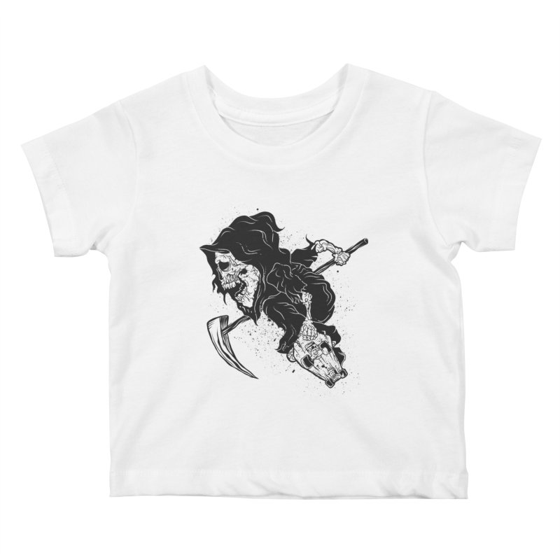 last grind Kids Baby T-Shirt by audi's Artist Shop