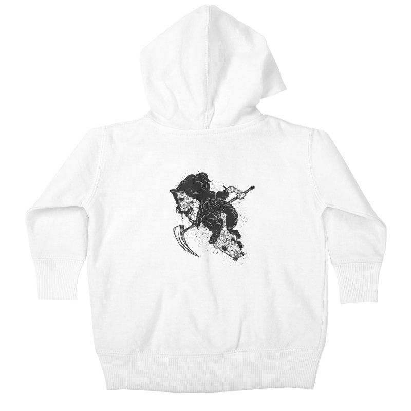 last grind Kids Baby Zip-Up Hoody by audi's Artist Shop