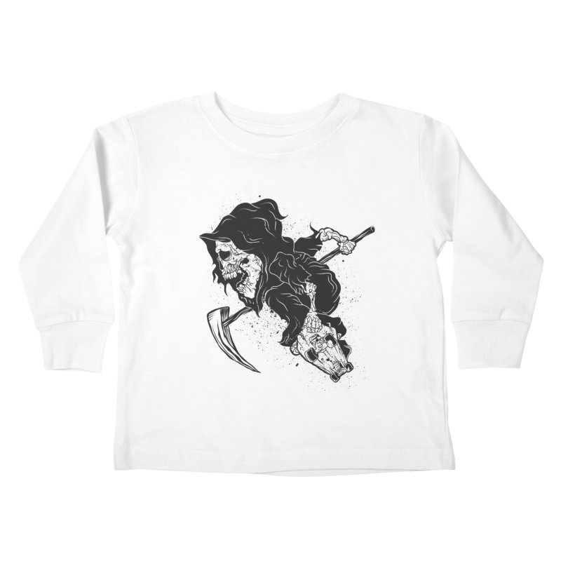 last grind Kids Toddler Longsleeve T-Shirt by audi's Artist Shop