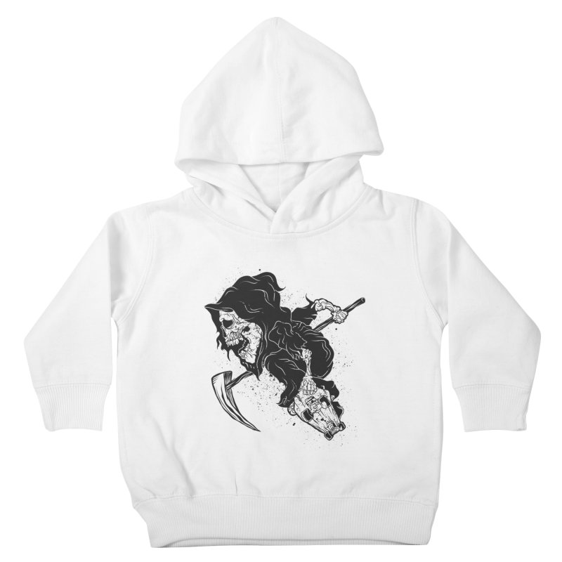 last grind Kids Toddler Pullover Hoody by audi's Artist Shop