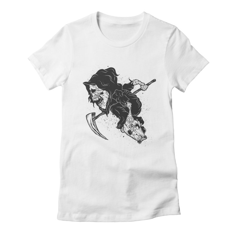 last grind Women's Fitted T-Shirt by audi's Artist Shop