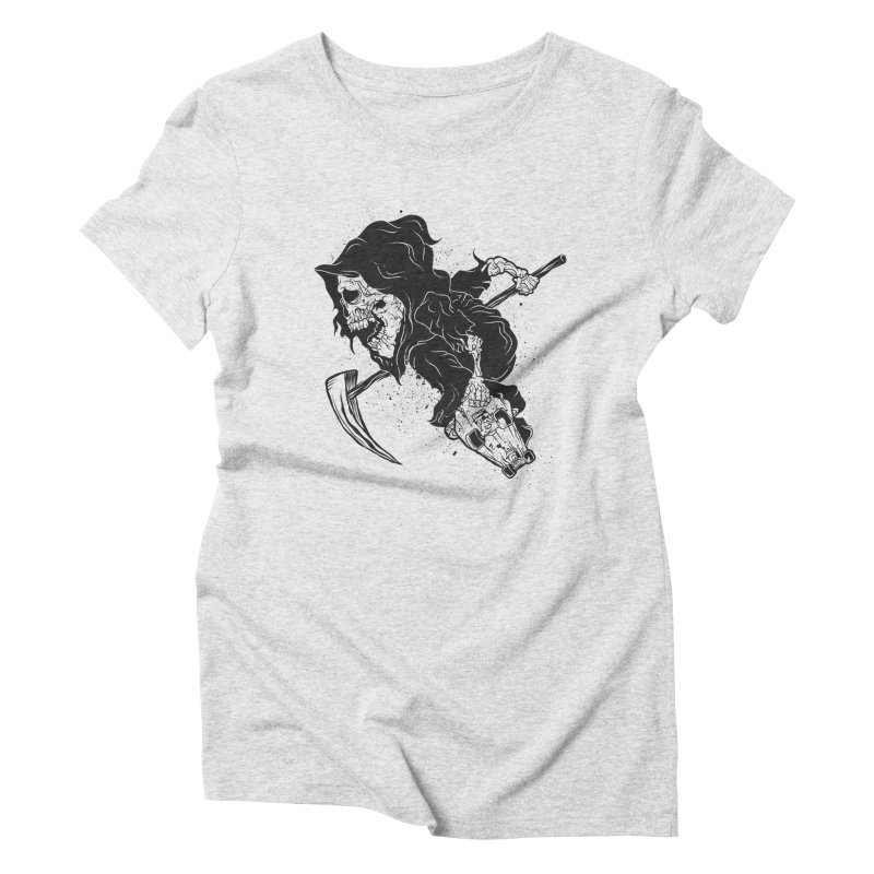 last grind Women's Triblend T-Shirt by audi's Artist Shop