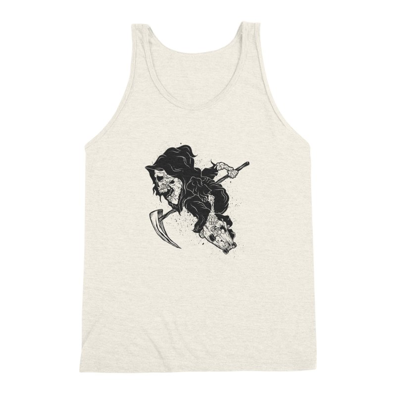 last grind Men's Triblend Tank by audi's Artist Shop