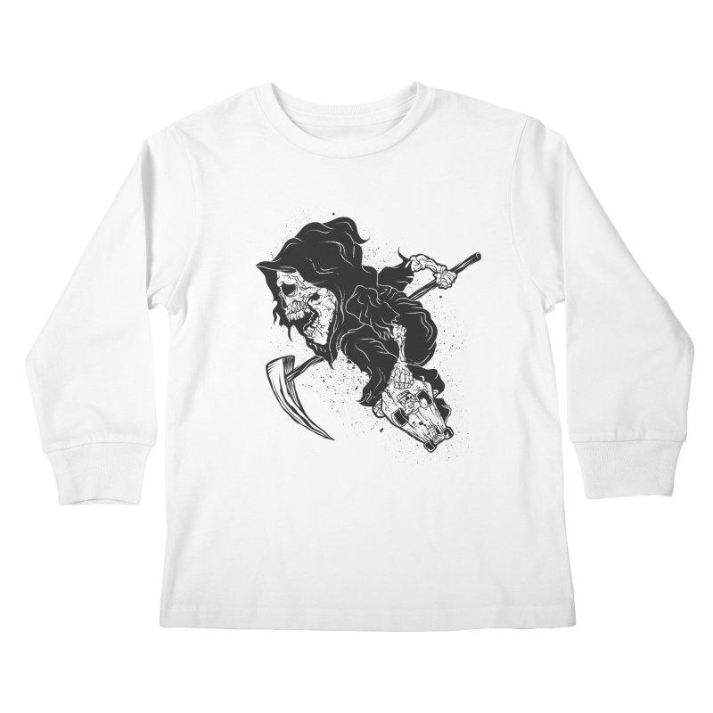last grind Kids Longsleeve T-Shirt by audi's Artist Shop