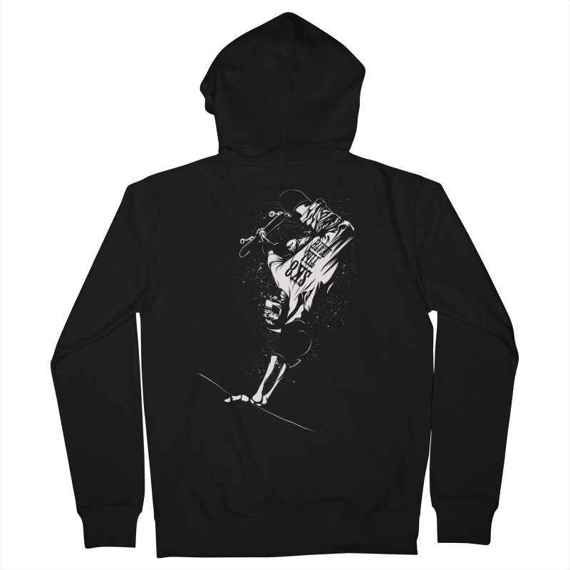sk8 Men's Zip-Up Hoody by audi's Artist Shop