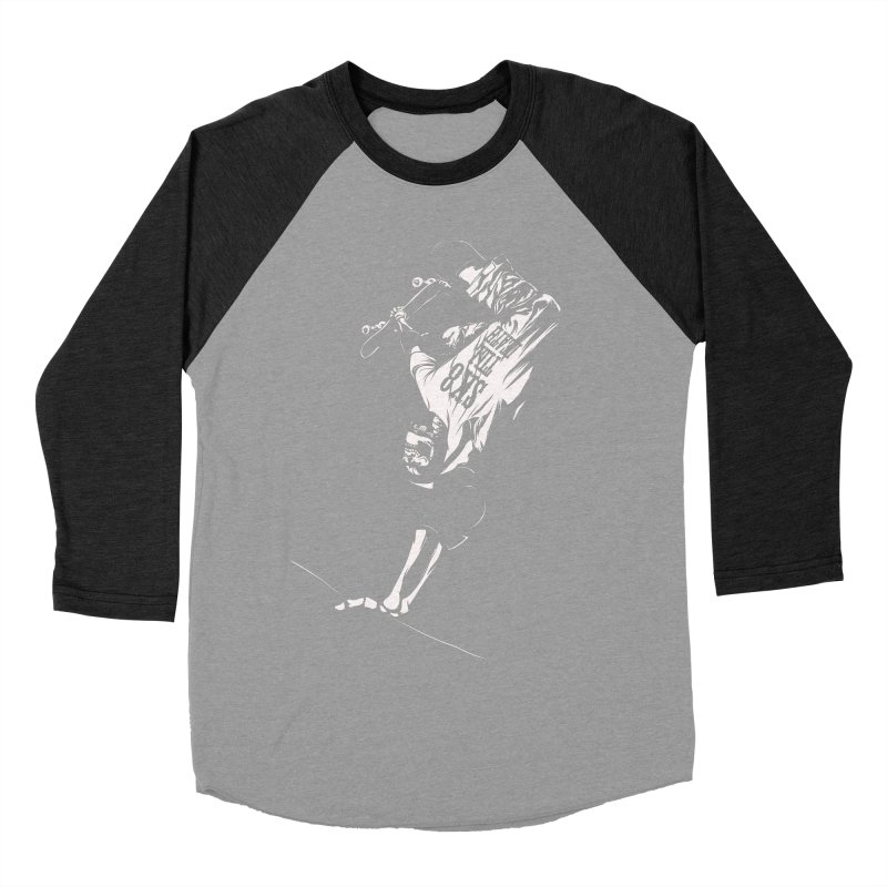 sk8 Men's Baseball Triblend T-Shirt by audi's Artist Shop
