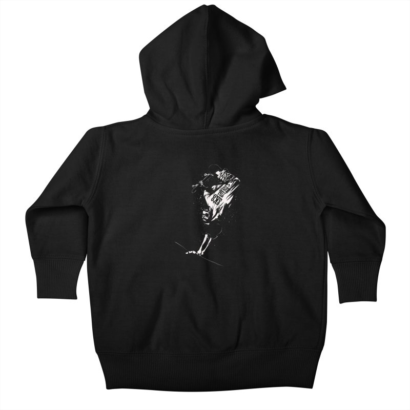 sk8 Kids Baby Zip-Up Hoody by audi's Artist Shop