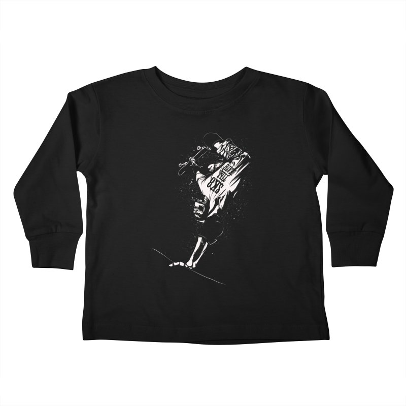 sk8 Kids Toddler Longsleeve T-Shirt by audi's Artist Shop
