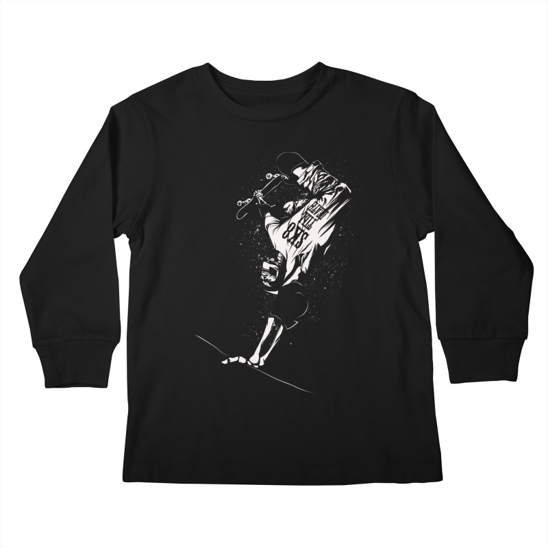 sk8 Kids Longsleeve T-Shirt by audi's Artist Shop