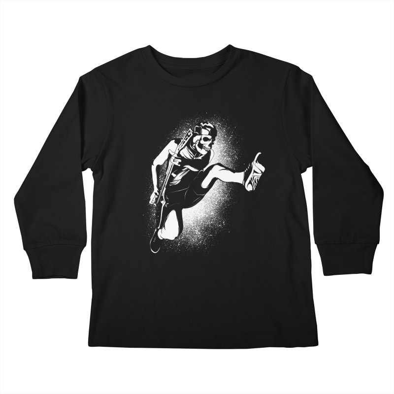 rnr Kids Longsleeve T-Shirt by audi's Artist Shop