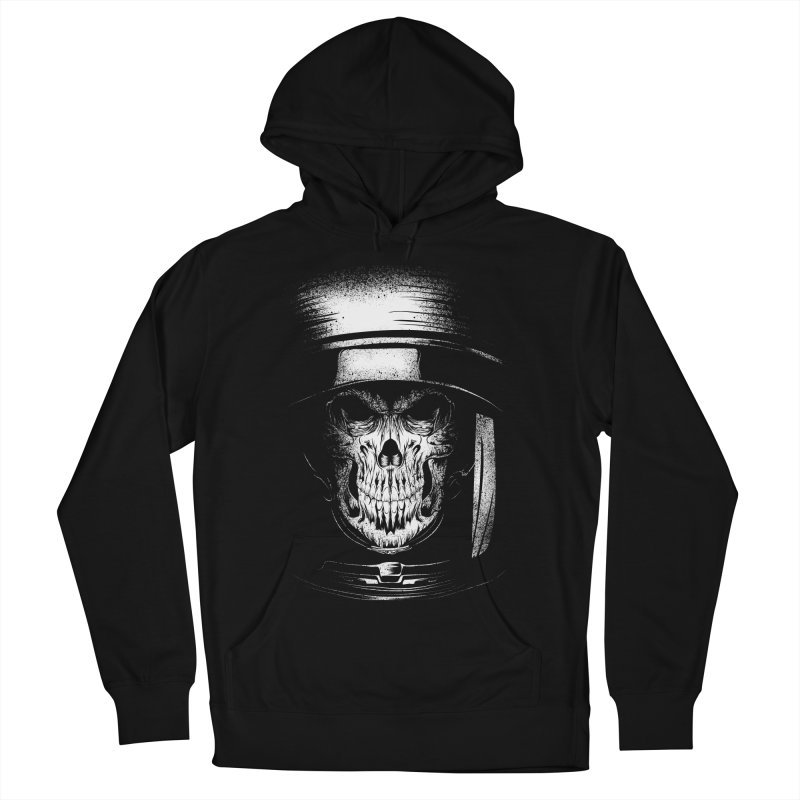 dead in space Women's French Terry Pullover Hoody by audi's Artist Shop