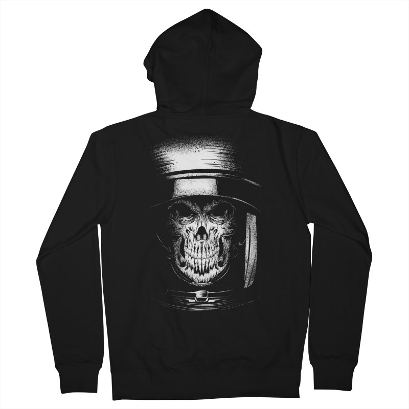 dead in space Women's French Terry Zip-Up Hoody by audi's Artist Shop