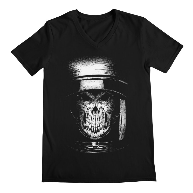 dead in space Men's Regular V-Neck by audi's Artist Shop