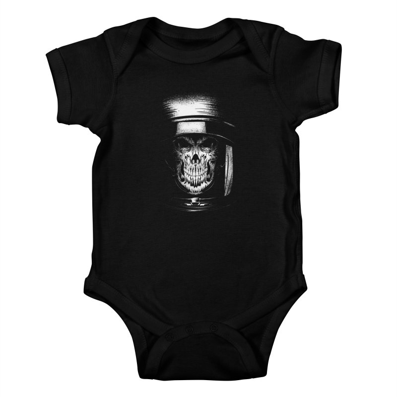 dead in space Kids Baby Bodysuit by audi's Artist Shop