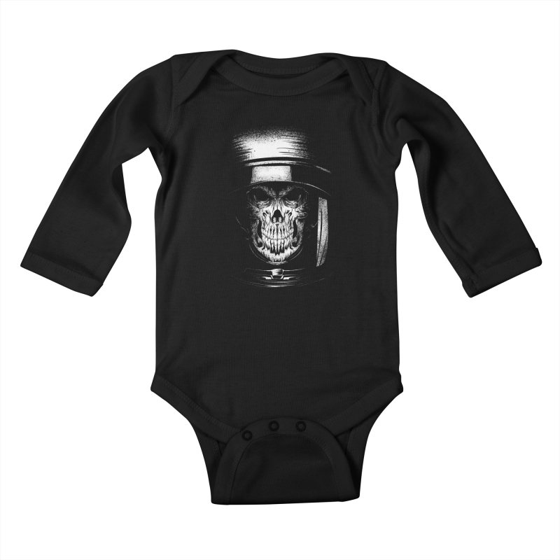 dead in space Kids Baby Longsleeve Bodysuit by audi's Artist Shop