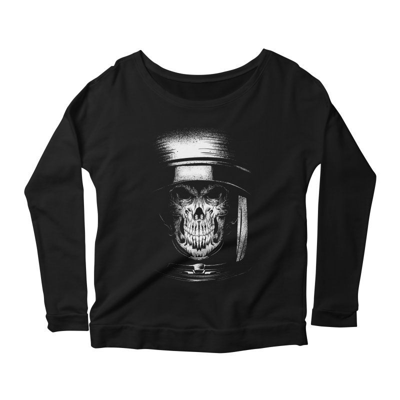 dead in space Women's Longsleeve Scoopneck  by audi's Artist Shop
