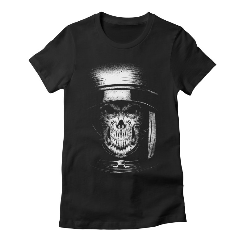 dead in space Women's Fitted T-Shirt by audi's Artist Shop
