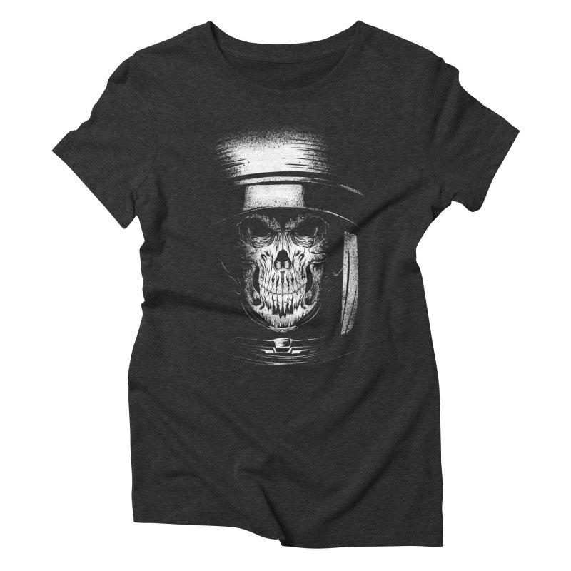 dead in space Women's Triblend T-Shirt by audi's Artist Shop