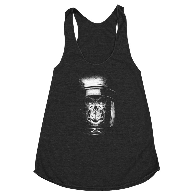 dead in space Women's Racerback Triblend Tank by audi's Artist Shop