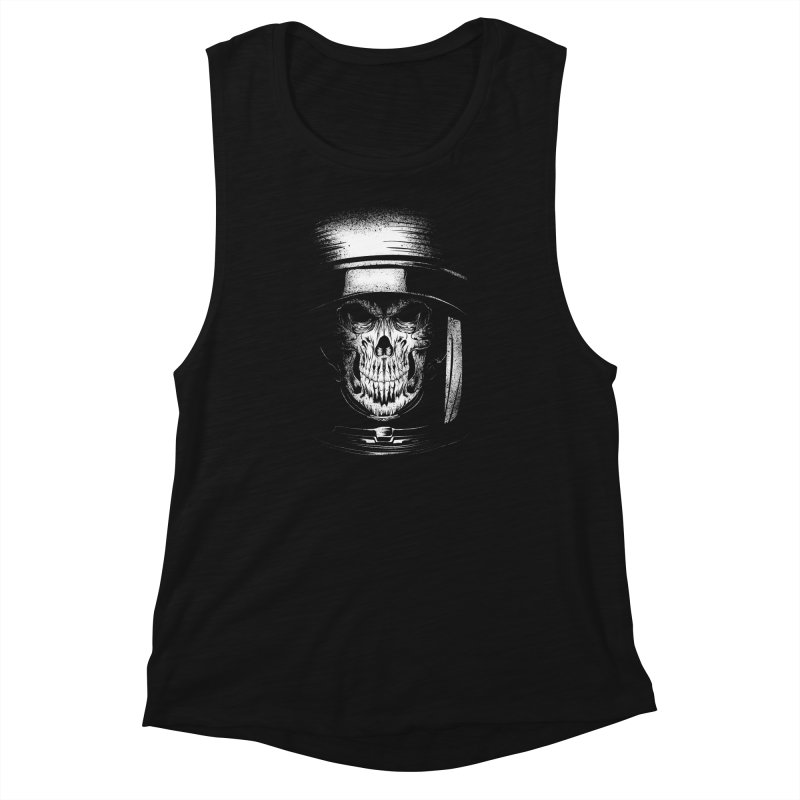 dead in space Women's Muscle Tank by audi's Artist Shop