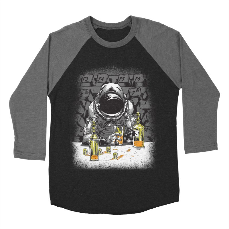 spacebar Men's Baseball Triblend Longsleeve T-Shirt by audi's Artist Shop