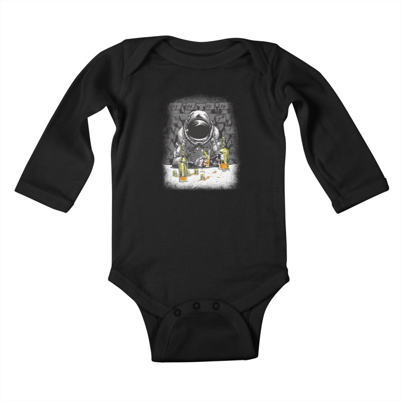 spacebar Kids Baby Longsleeve Bodysuit by audi's Artist Shop