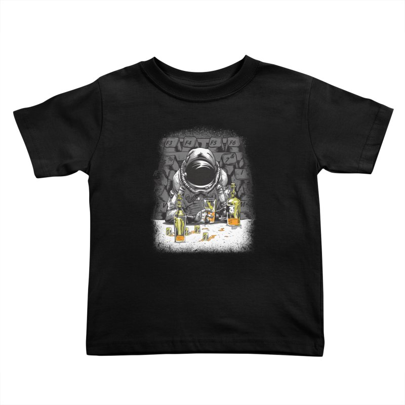 spacebar Kids Toddler T-Shirt by audi's Artist Shop