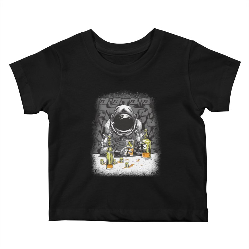 spacebar Kids Baby T-Shirt by audi's Artist Shop