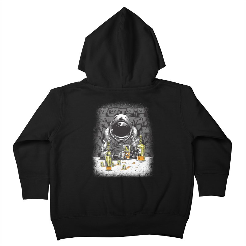 spacebar Kids Toddler Zip-Up Hoody by audi's Artist Shop