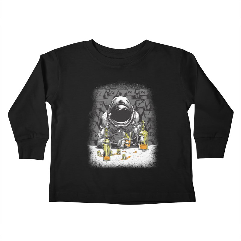spacebar Kids Toddler Longsleeve T-Shirt by audi's Artist Shop