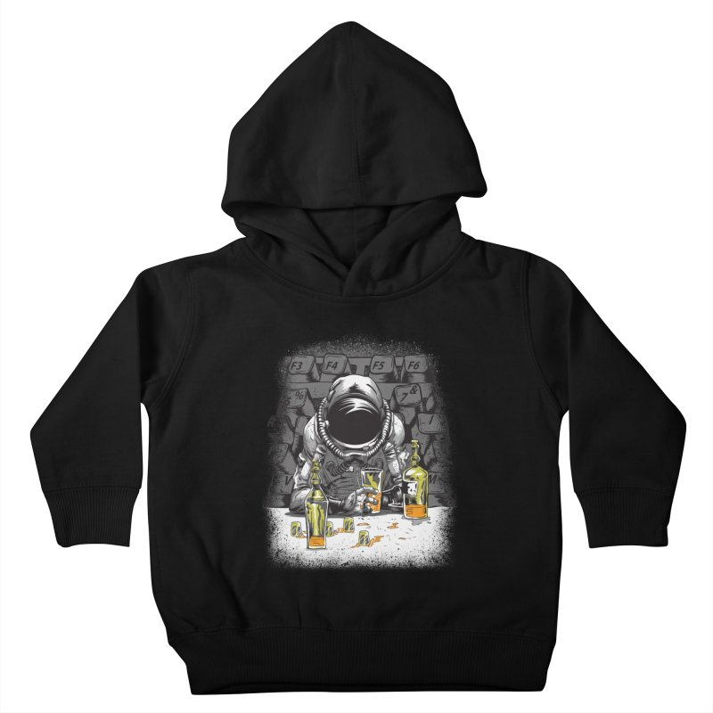 spacebar Kids Toddler Pullover Hoody by audi's Artist Shop