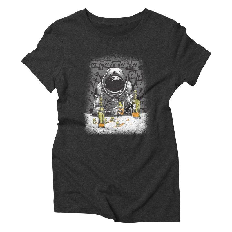 spacebar Women's Triblend T-Shirt by audi's Artist Shop