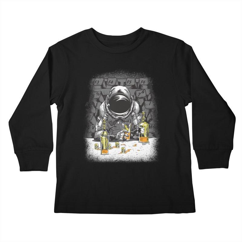 spacebar Kids Longsleeve T-Shirt by audi's Artist Shop