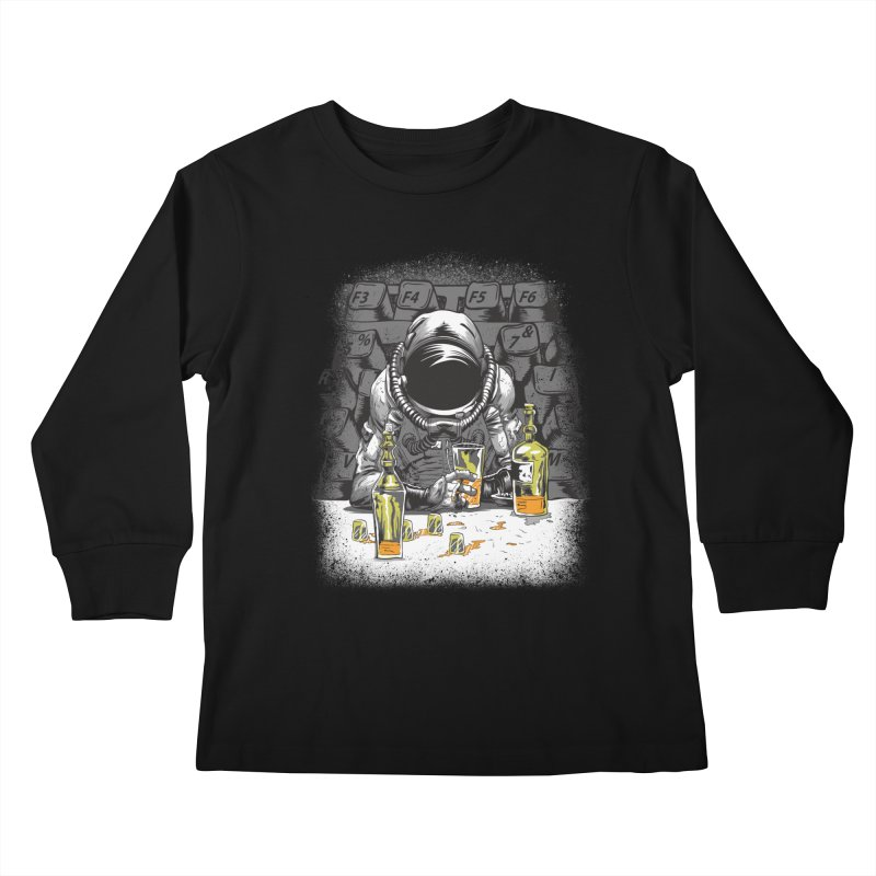 spacebar Kids Longsleeve T-Shirt by audi's Artist Shop
