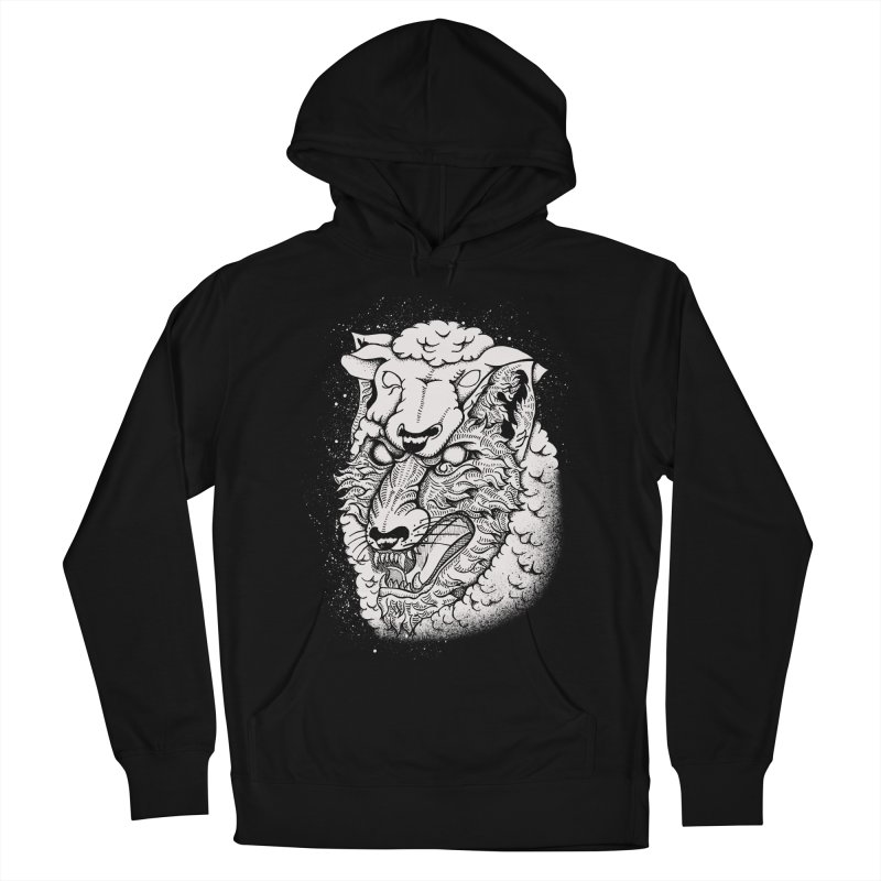 disguise Men's French Terry Pullover Hoody by audi's Artist Shop