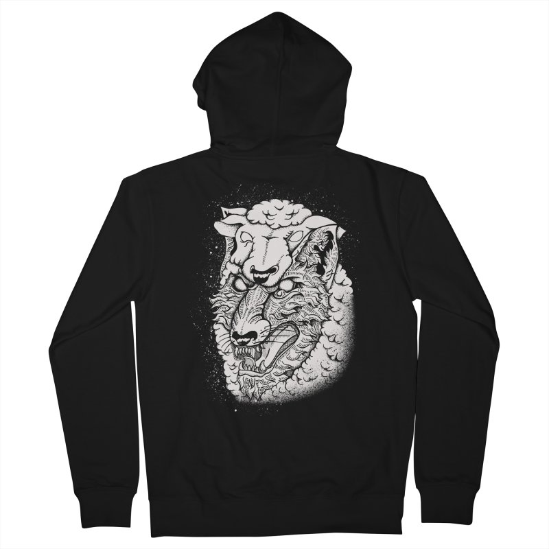 disguise Men's Zip-Up Hoody by audi's Artist Shop