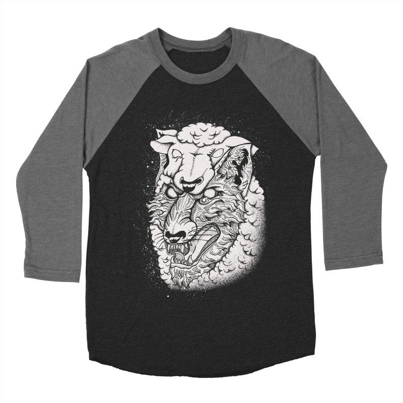 disguise Men's Baseball Triblend Longsleeve T-Shirt by audi's Artist Shop