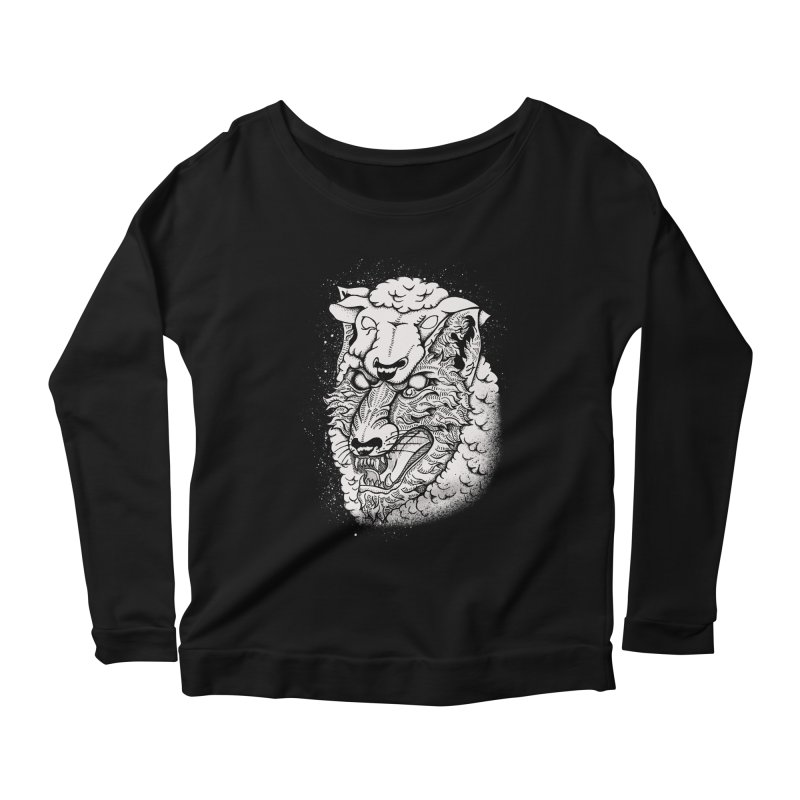 disguise Women's Longsleeve Scoopneck  by audi's Artist Shop